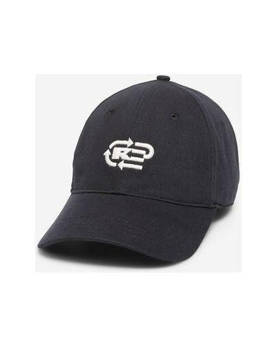 Klasyczna czarna czapka bawełniana Marc O Polo
