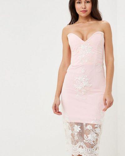 Розовое платье Mirasezar