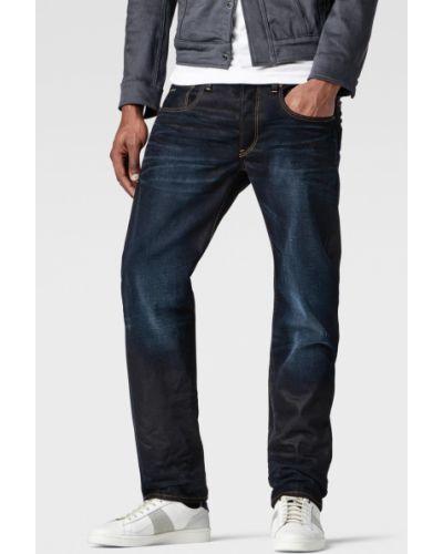 Прямые джинсы с карманами с нашивками G-star Raw