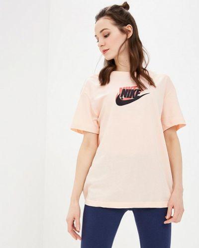 Розовое поло турецкое Nike