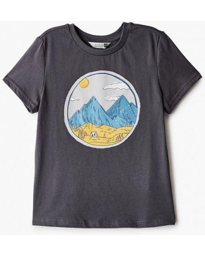 Серая футболка с короткими рукавами Sela