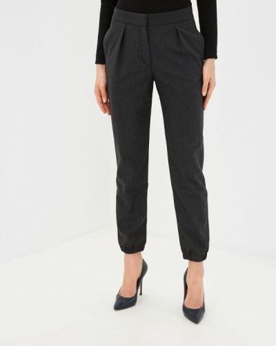 Черные классические брюки Stefanel