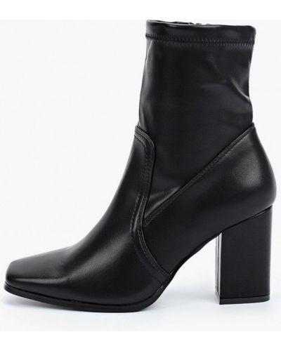 Черные кожаные сапоги Sweet Shoes