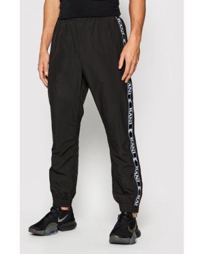 Czarne spodnie dresowe Karl Kani