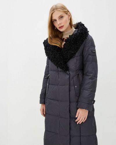 Пальто демисезонное серое Clasna