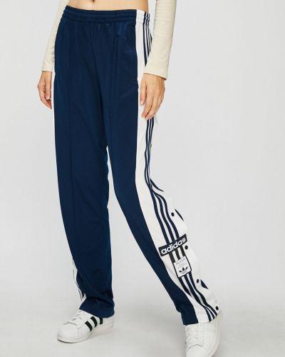 Брюки на резинке с лампасами прямые Adidas Originals