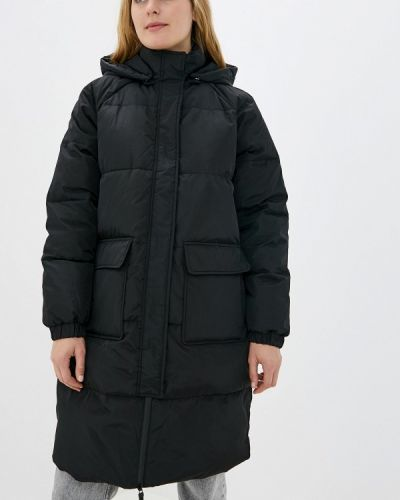 Зимняя куртка черная осенняя Noisy May