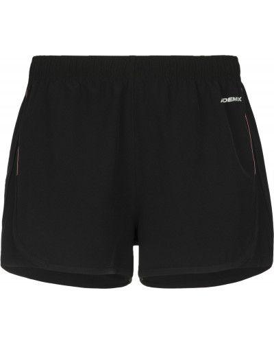 Свободные черные спортивные шорты для бега Demix