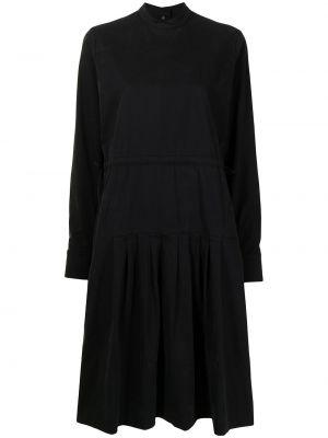 Czarna sukienka bawełniana Ymc