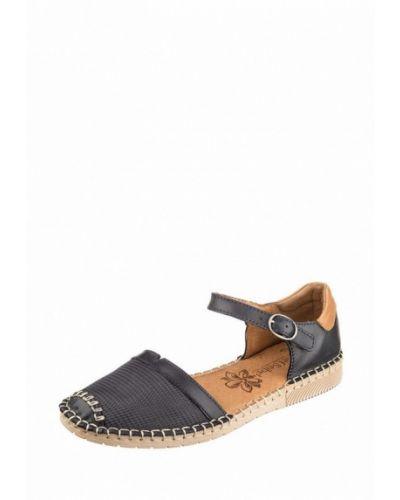 Кожаные сандалии - синие Josef Seibel