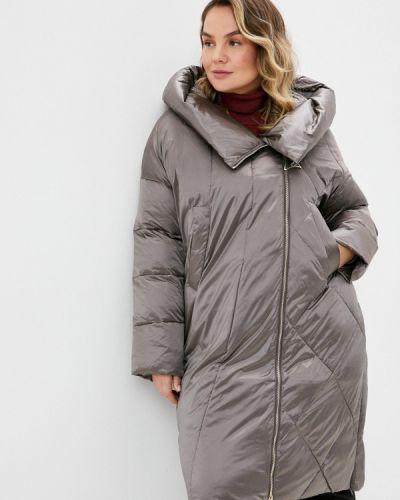 Коричневая утепленная куртка Winterra