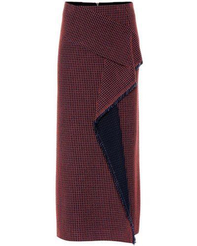 Spódnica bawełniana kaskadowa Roland Mouret