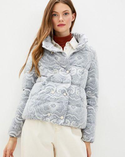 Теплая серая куртка Fadjo