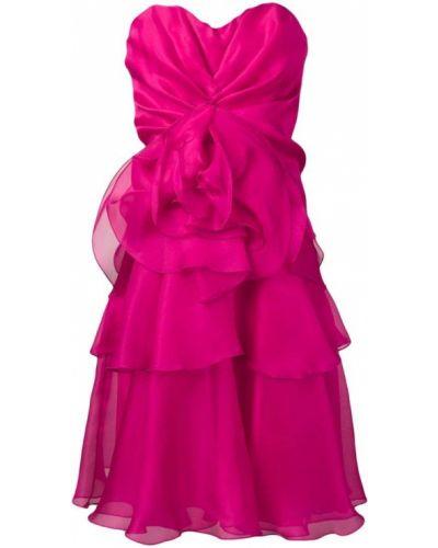 Платье розовое на молнии Rhea Costa