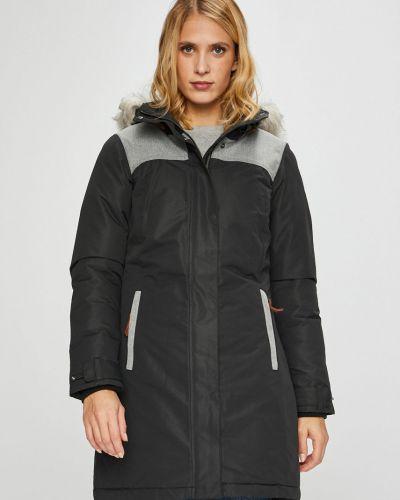 Утепленная куртка с капюшоном прямая Columbia