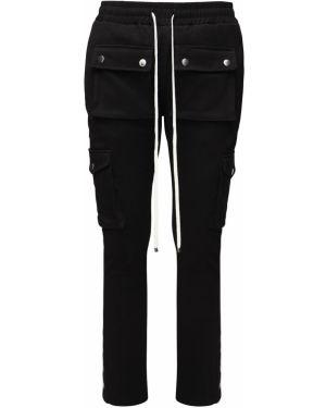 Czarne spodnie bawełniane ciążowe Flaneur Homme