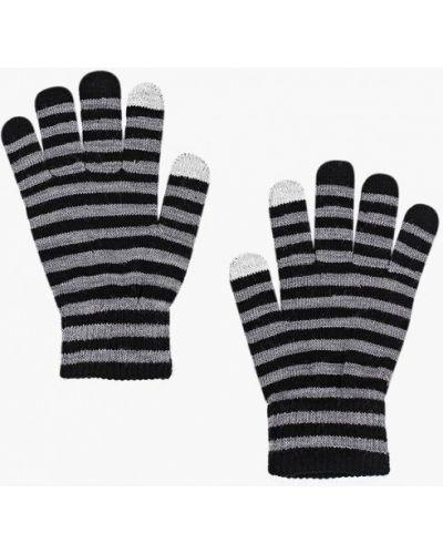 Серые перчатки текстильные Ovs