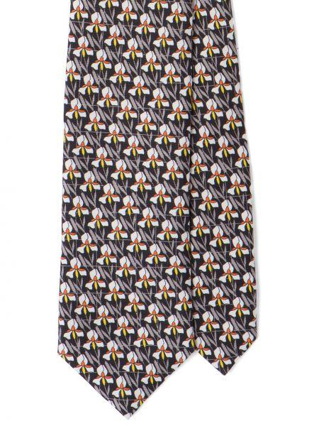 Biały krawat Prada