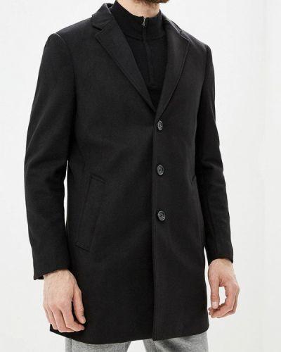 Черное пальто осеннее Tom Tailor