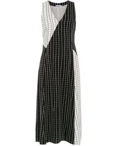 Платье миди с принтом - белое Mara Mac