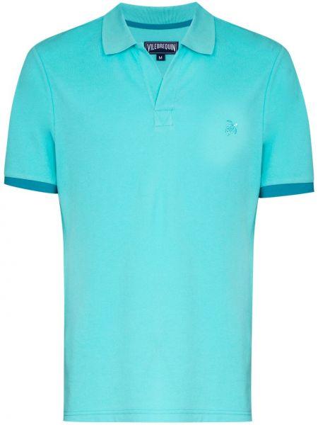 Niebieska koszula bawełniana Vilebrequin
