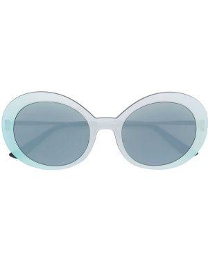 Прямые муслиновые желтые солнцезащитные очки Christian Roth