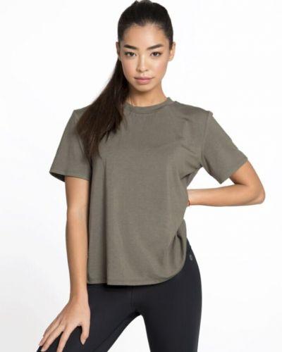 Зеленая свободная футболка для фитнеса Designed For Fitness