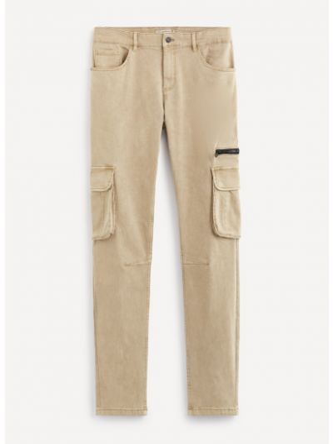 Spodnie bawełniane Celio
