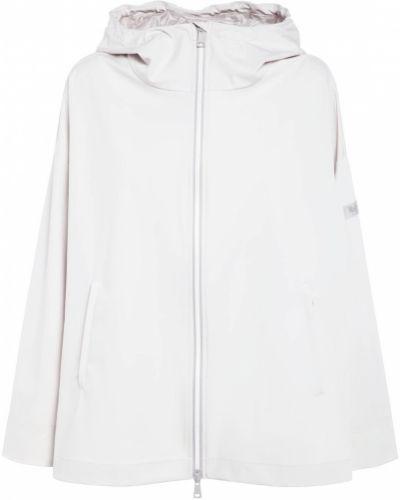 Нейлоновая бежевая куртка с капюшоном Max Mara