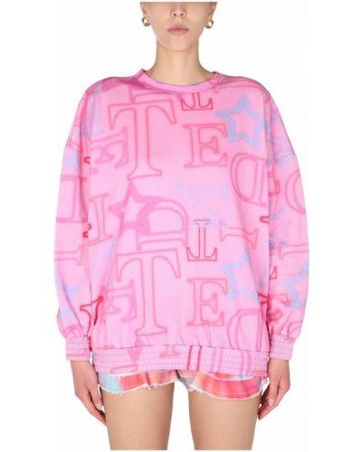 Różowa bluza dresowa Teen Idol