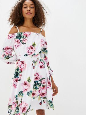 Платье - белое Avemod