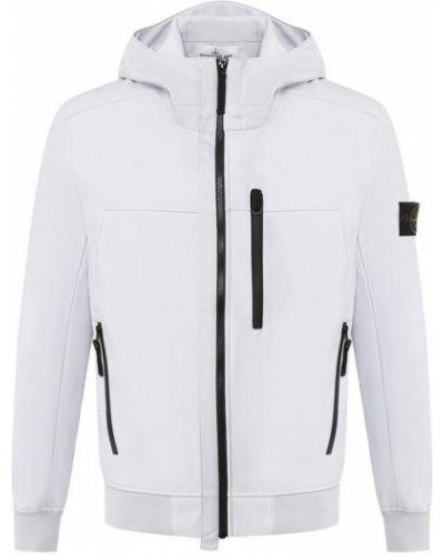 Куртка с капюшоном на молнии Stone Island