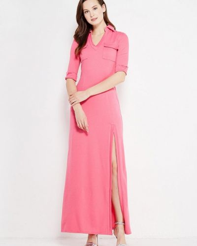 Платье розовое осеннее Sk-house