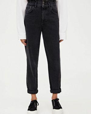 Прямые джинсы черные Pull&bear