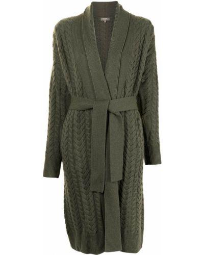 Zielony z kaszmiru sweter N.peal