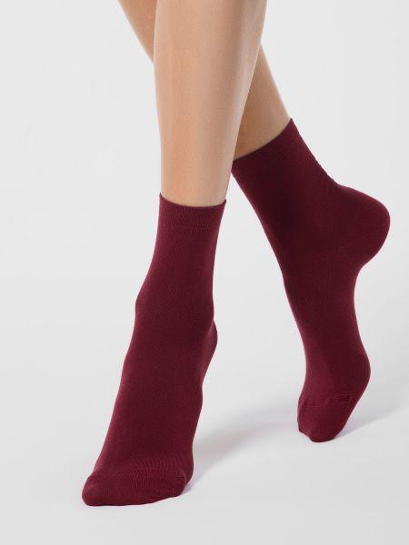 Фиолетовые носки из вискозы Conte Elegant