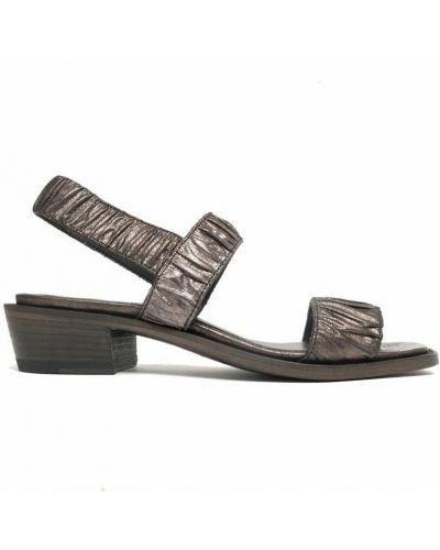 Brązowe sandały Pantanetti