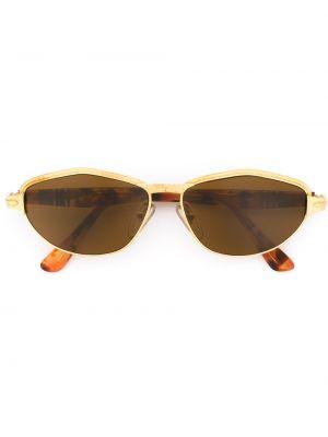 Солнцезащитные очки металлические с завязками Persol Pre-owned