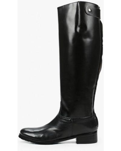 Черные сапоги из натуральной кожи Enzo Logana