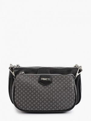 Черная сумка осенняя Fabretti
