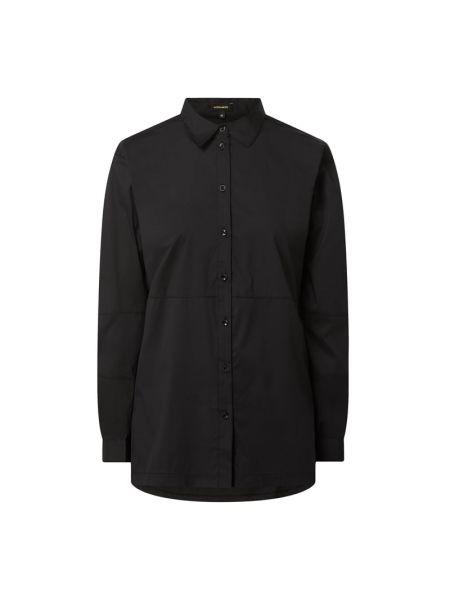 Bluzka bawełniana - czarna More & More