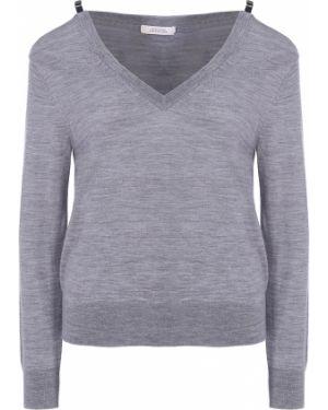 Пуловер вязаный с V-образным вырезом Dorothee Schumacher