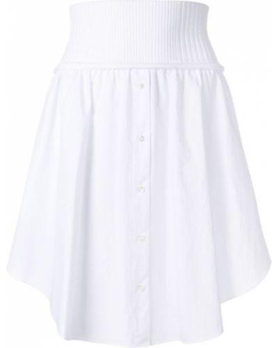 Белая юбка Alexander Wang