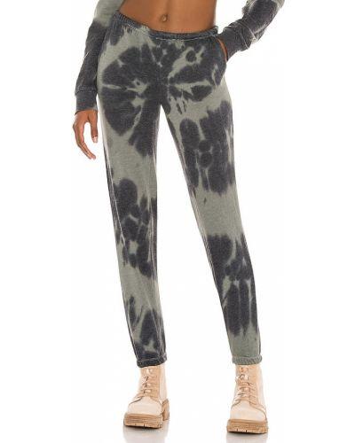 Флисовые черные брюки с карманами Generation Love