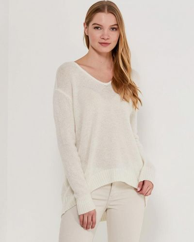 Белый пуловер Jacqueline De Yong