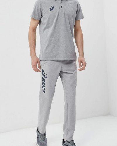 Спортивные брюки серые Asics