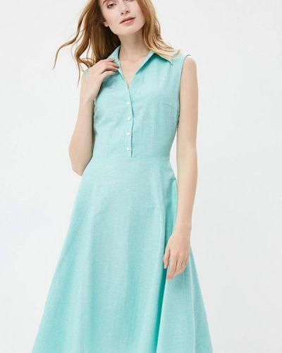 Бирюзовое платье Gregory