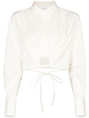 Рубашка с завязками - белая Frame