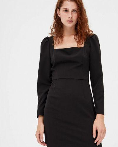 Черное платье-футляр Lime