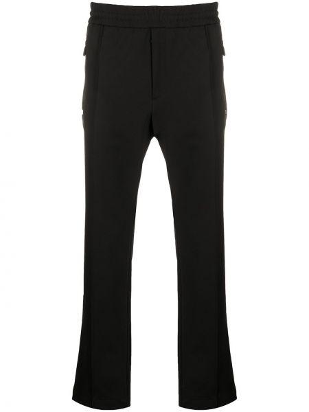 Czarne spodnie Moncler Grenoble